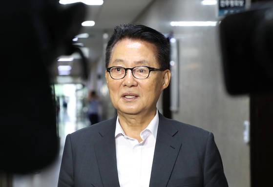 박지원 민주평화당 의원 [중앙포토]