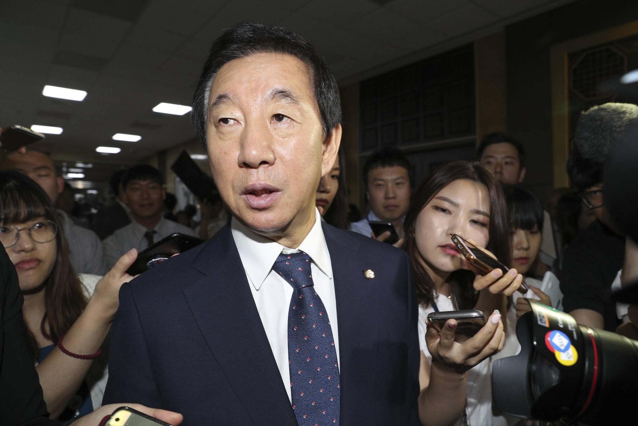 김성태 자유한국당 대표 권한대행. 임현동 기자