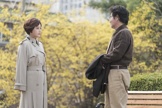 '같이 살래요'의 장미희와 유동근. [사진 KBS]