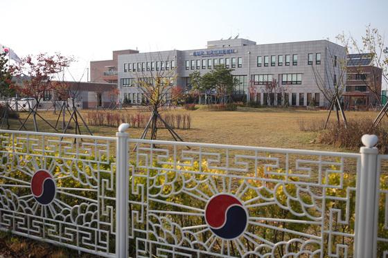 인천 영종도에 있는 출입국외국인지원센터 전경. [연합뉴스]