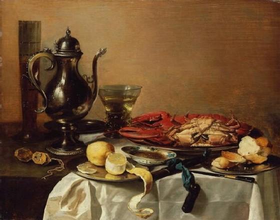 피터 클라스 <정물>, 1643