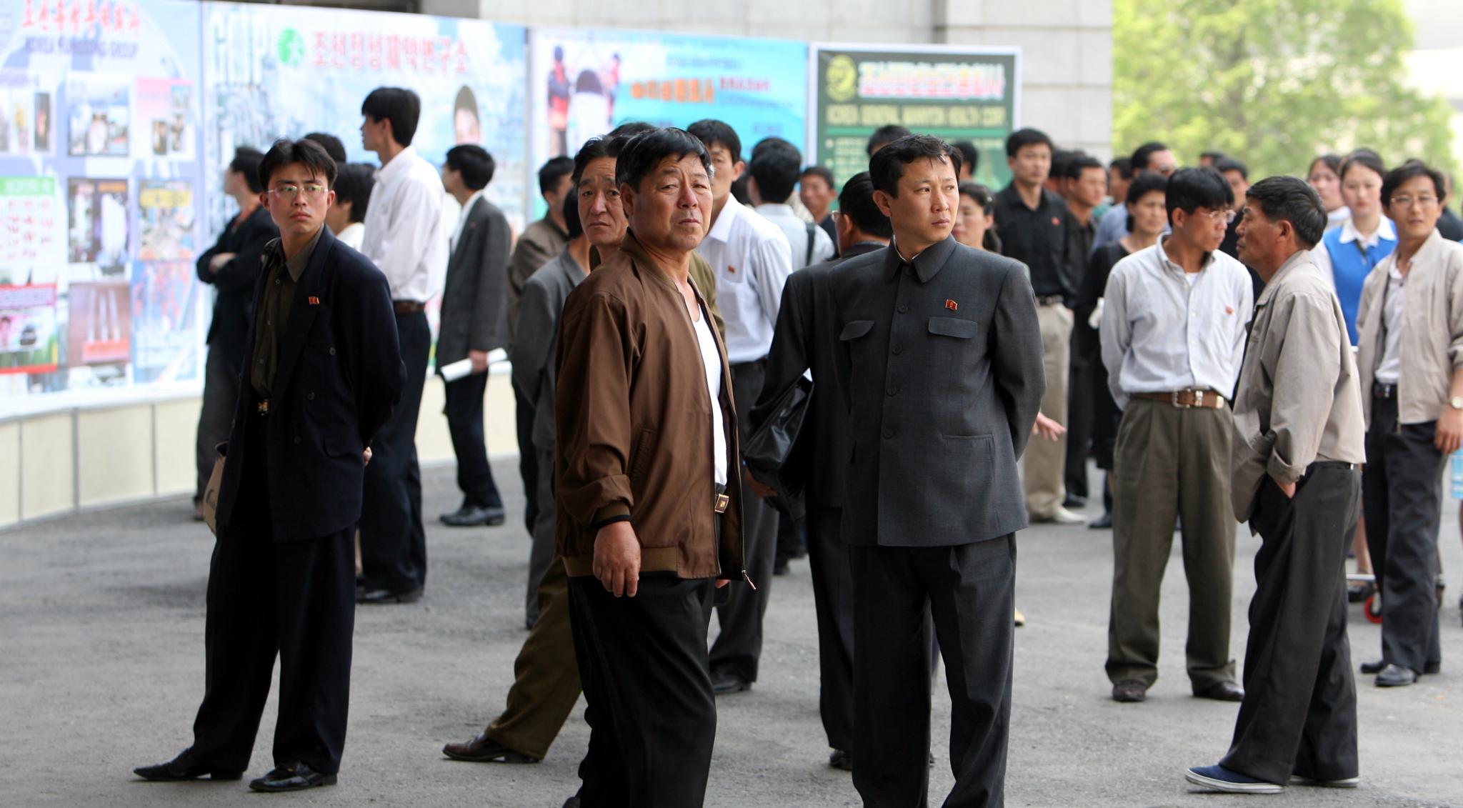 북한 남성. [중앙포토]