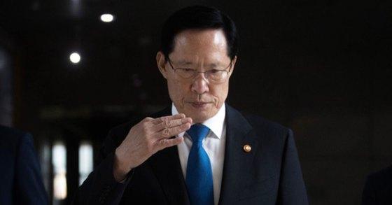 송영무 국방부 장관. 이혜경 기자