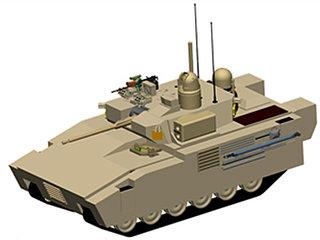 미국이 도입 하려는 차세대 전투차량(NGCV) 모형도 [사진 wikipedia]