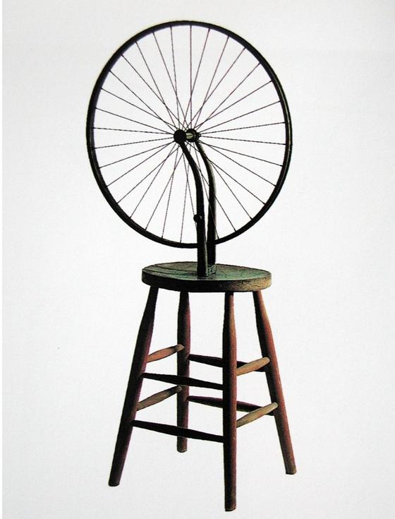 마르셀 뒤샹, 자전거바퀴, 1913