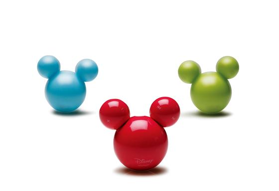 아이리버 엠플레이어. 미키 마우스를 모티브로 디자인한 엠플레이어. 2007년 국내 최고의 히트 상품이었던 이 MP3는 2008년 제품 디자인 부문에서 수상했다. [중앙포토]