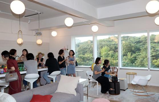 서울 강남구 삼성동 선릉 인근에 위치한 헤이 조이스. 헤이 조이스는 국내에선 처음으로 일하는 여성들을 위한 멤버십 서비스와 공간을 앞세우며 오픈했다. 최정동 기자