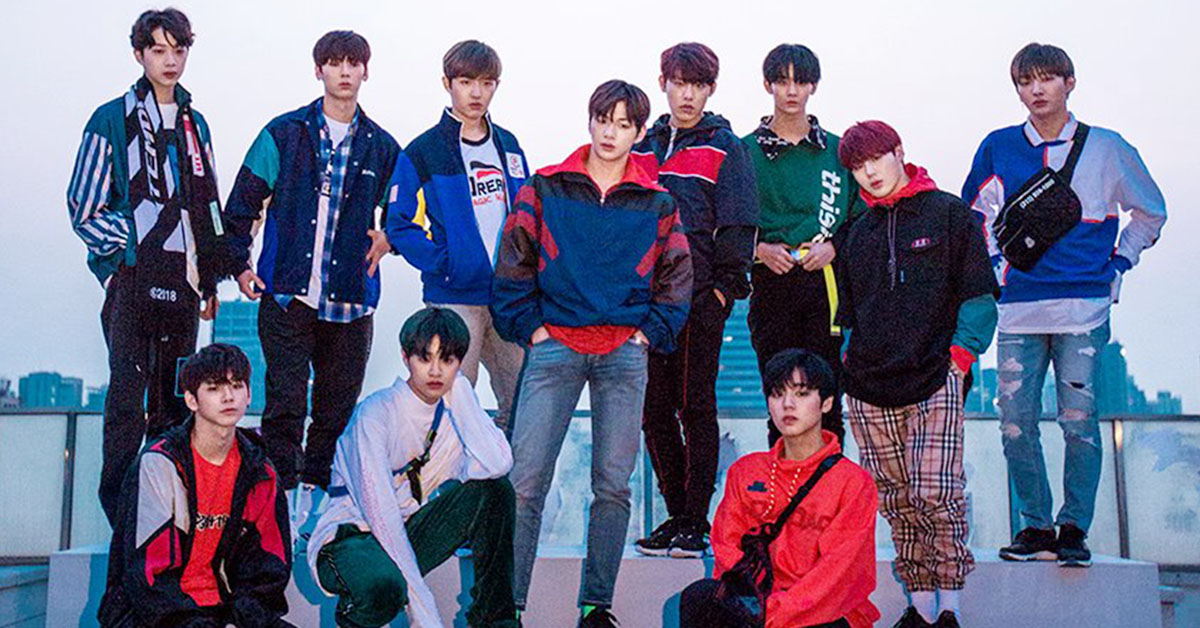 Photo from Wanna One Naver Post