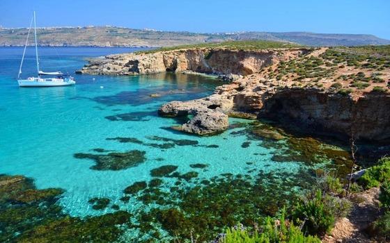 지중해에 있는 천국같은 작은 섬 몰타. 공용어가 영어이고 한겨울에도 16도 정도의 온화한 기후를 즐길 수 있다. [중앙포토]