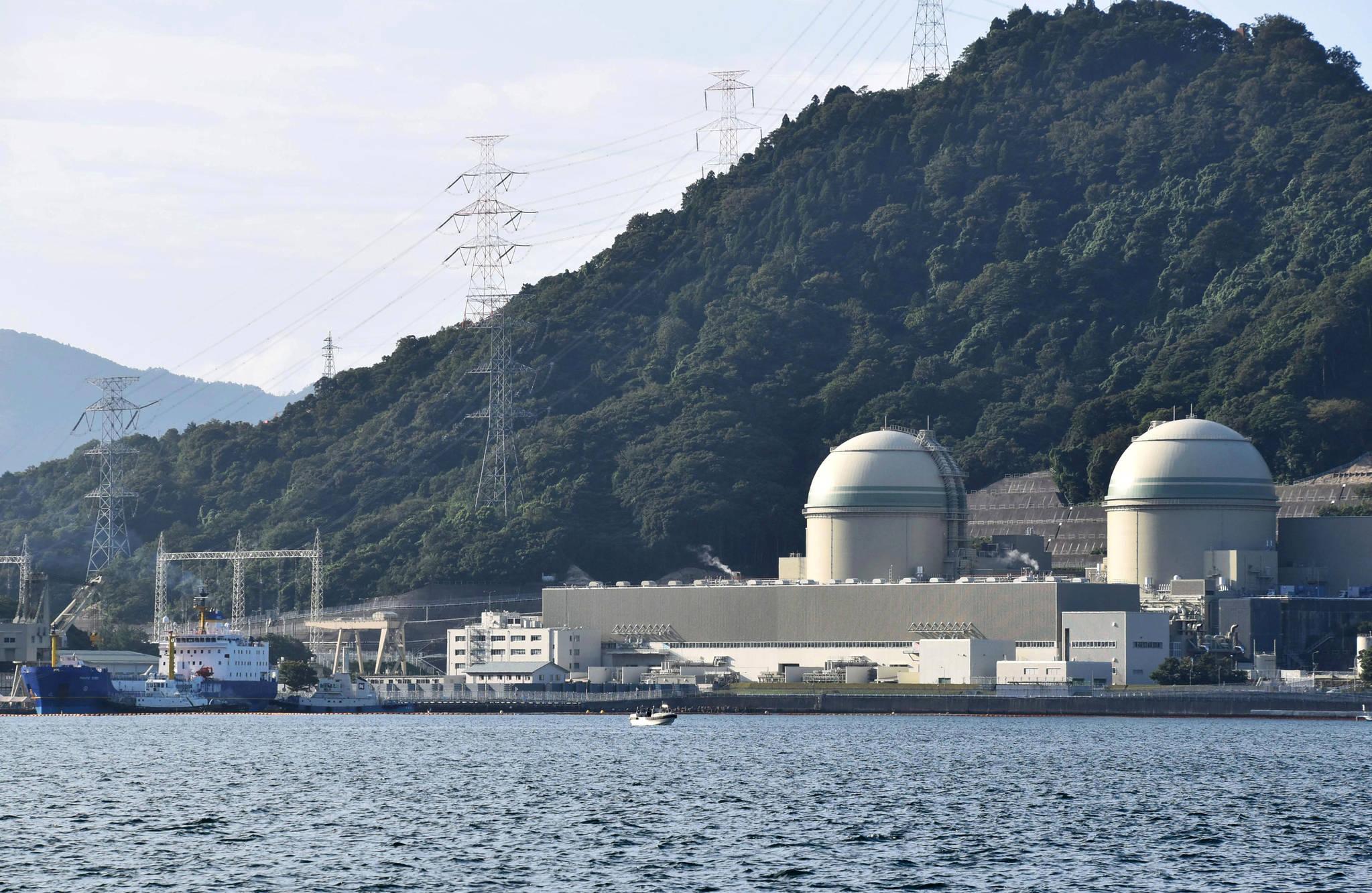 기사의 내용과 관련 없는 자료 사진입니다. 사진은 일본 후쿠이현 다카하마 원전. [AP=연합뉴스]
