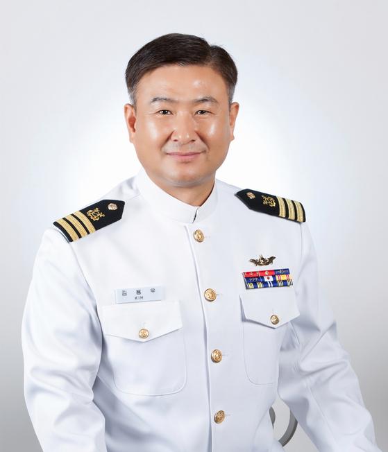한강물에 빠진 시민을 구해 LG의인상을 받게 된 김용우 중령. [사진 LG복지재단]