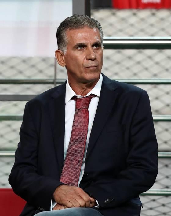 이란축구대표팀을 7년간 이끈 케이로스 감독. [연합뉴스]