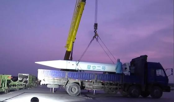 중국산 극초음속 비행체 '싱쿵(星空)-2호 로켓' [사진=참고소식]