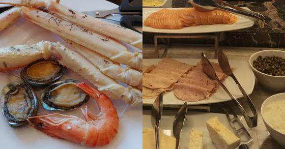식약처에 따르면 뷔페에서 손님이 접시에 담은 음식은 남은 음식이지만 진열된 음식은 먹고 남은 음식으로 보지 않는다. [중앙포토]
