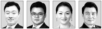 이태훈, 노철오, 이항영, 정성안(왼쪽부터).