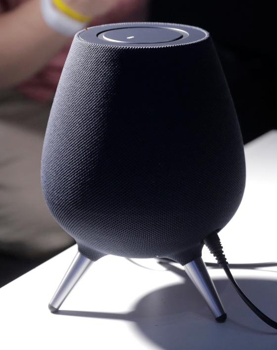 삼성전자 인공지능(AI) 빅스비를 담고있는 갤럭시홈. [로이터=연합뉴스]