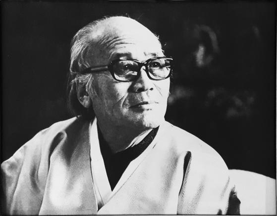 1978년 원곡서예상을 제정한 서예가 원곡 김기승 선생(1909-2000). [사진 원곡문화재단]