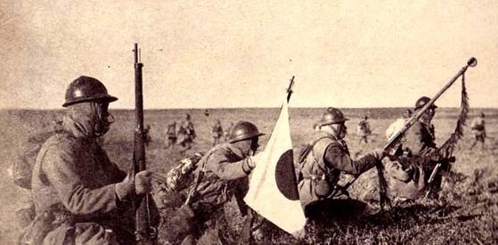 만주사변 당시 만주로 진격한 일본 관둥군. [사진 일본 태평양전쟁연구회]
