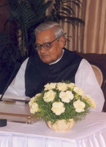 아탈 비하리 바지파이 전 인도 총리. [사진 위키피디아]