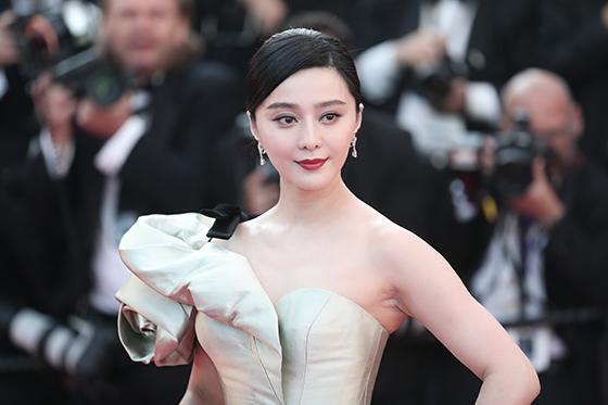 중국의 인기 배우 판빙빙. [중앙포토]