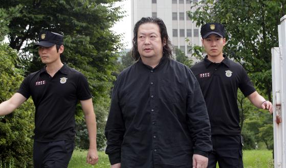 故 유병언 전 세모그룹 회장의 장남 유대균씨 [연합뉴스]
