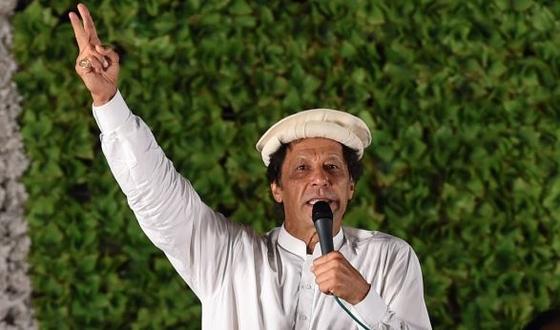 임란 칸 파키스탄 PTI 총재 [AFP=뉴스1]