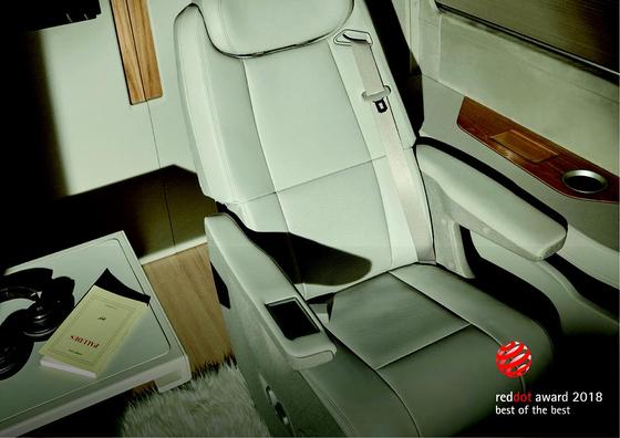 '레드닷 디자인 어워드'에서 최우수상을 받은 현대차의 승합차 '쏠라티 무빙호텔'. [연합뉴스]