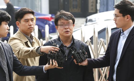 김경수 지사의 의원 시절 보좌관이었던 한모 씨는 경공모 회원 사이에서 '벼룩'이라는 별칭으로 불렸다. [중앙포토]