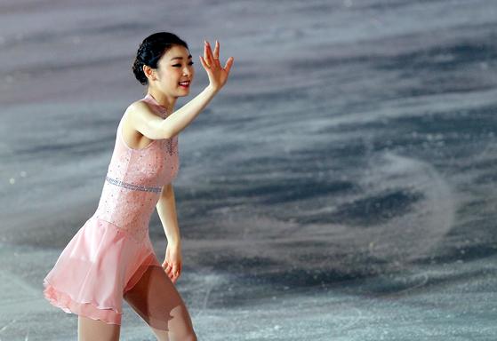 세계적인 피겨 스케이팅 선수인 '김연아'와 이름이 동일한 사람은 비록 자기 이름이라고 해도 상표 등록을 받기 어렵다. [일간스포츠]