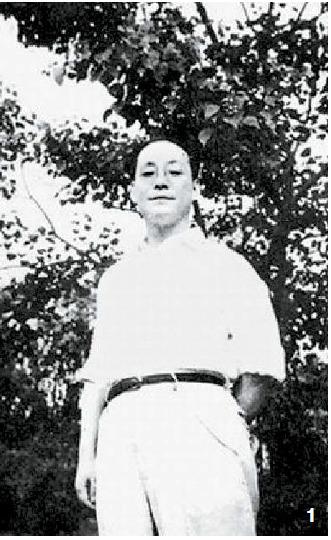 1 젊은 시절 판한넨은 문학청년이었다. 1930년 봄, 상하이.
