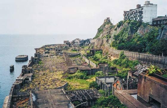 하시마 탄광 전경.[사진 선인출판사]