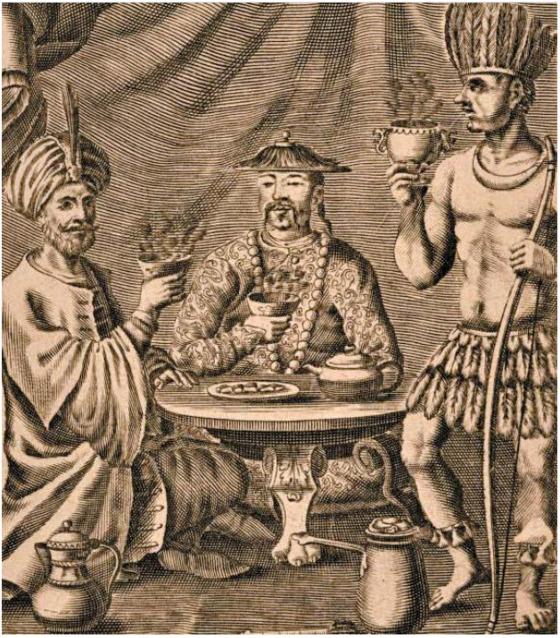 그림 1 필립 실베스트르 뒤포, '커피·차·초콜릿의 새롭고 신기한 이야기', 1685년