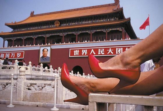 2016년 중국 베이징에서 촬영한 '천안문 광장(Tian An Men Square)'