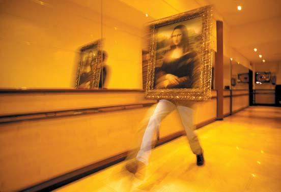 1999년 세계보도사진대상을 받은 '바르셀로나의 모나리자(Mona Lisa in Barcelrona)'