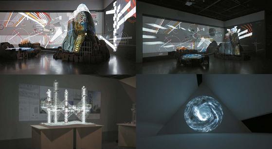 서울시립미술관 서소문 본관에서 열리고 있는 '자율진화도시'