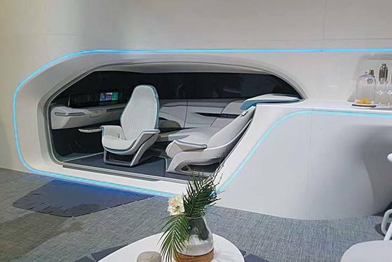 차와 주거공간을 결합한 현대자동차의 '모빌리티 비전 콘셉트'