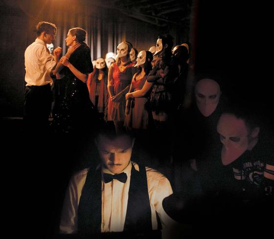 '이머시브씨어터' 열풍을 일으킨 '슬립노모어(Sleep No More)'는 '맥베스'에 미스터리스릴러를 가미해 긴장감을 더한다. ⓒEmursive