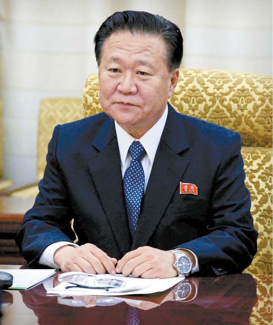 최용해 북한 노동당 중앙위원회 부위원장. [AP=연합뉴스]
