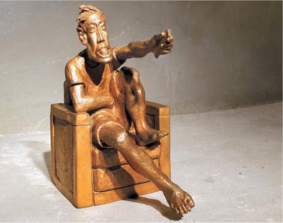 '선데이 서울'(2002), bronze, 27×30×31㎝