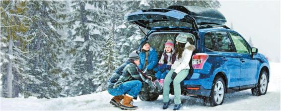 일본 자동차업체 스바루는 '눈길에 강하다'는 점을 내세운 포레스터 모델로 미국 북부지역을 집중 공략해 14분기 연속으로 10% 이상의 영업이익률을 올리고 있다. [사진 스바루]