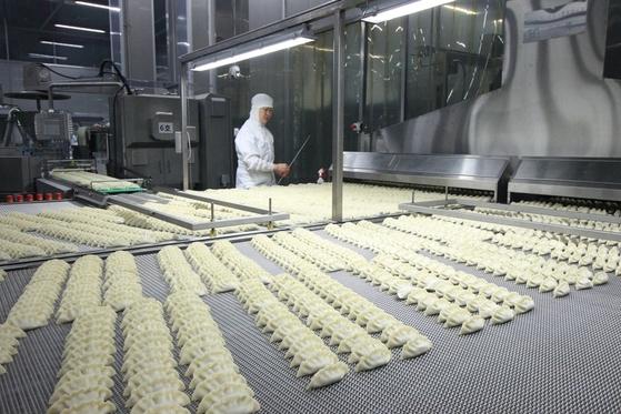 CJ제일제당 인천냉동식품공장의 모습.