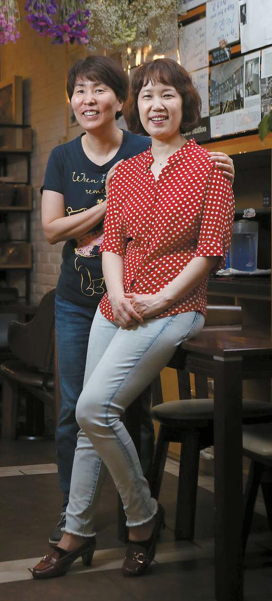 이희준 작가(왼쪽)·홍승희 프로듀서