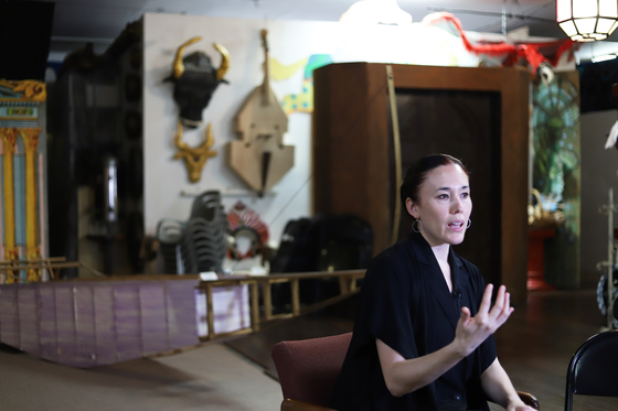 브로드웨이의 오스카상이라 불리는 토니상을 수상한 한국계 유미아 대표.