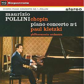폴리니가 쇼팽 콩쿠르 우승 직후 녹음한 협주곡 1번 음반. 오리지널 마스터를 사용해 다시 제작한 LP.