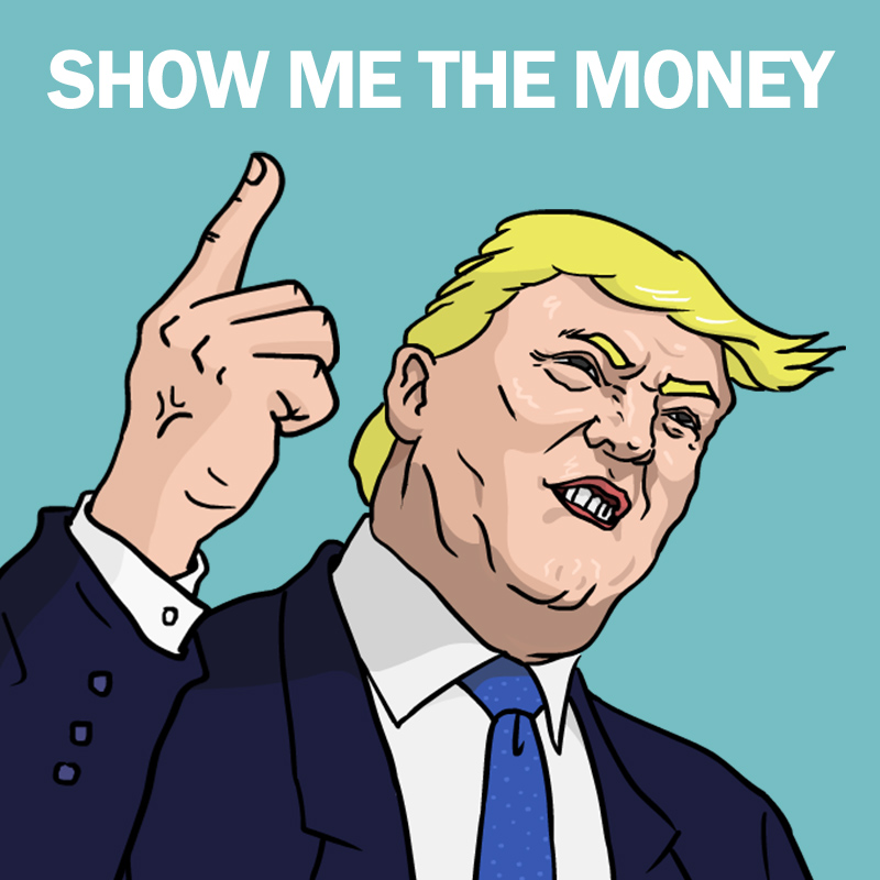 트럼프의 청구서