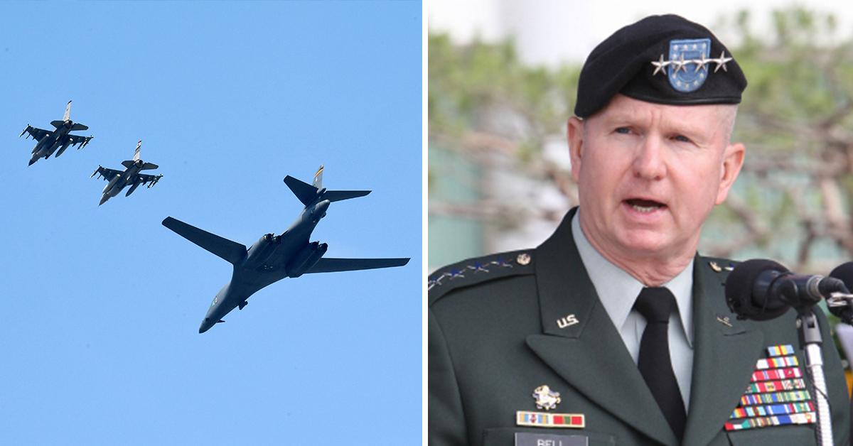 """버웰 벨 전 사령관 """"미국, 한국 승인없이 북한 타격 가능"""""""
