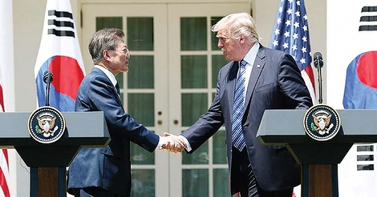 한미 정상, '미사일 탄두중량 제한' 해제 합의 ... 북한 지휘부 벙커 뚫는다