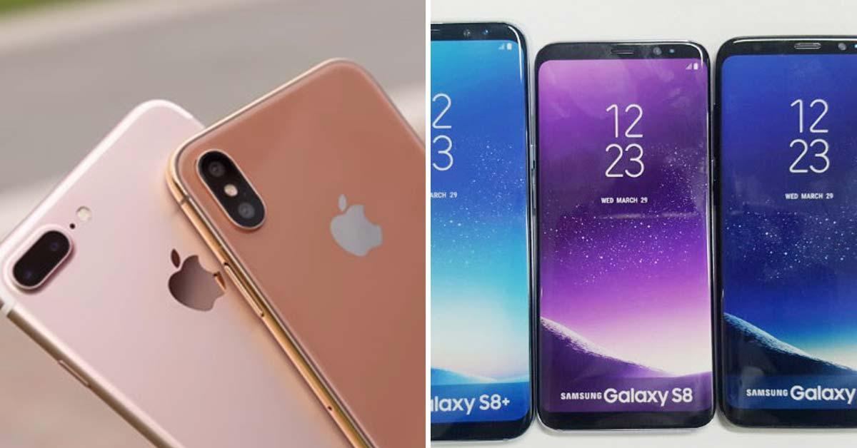 """외신 """"아이폰8 가격·물량은 애플 경쟁사 삼성이 결정"""""""