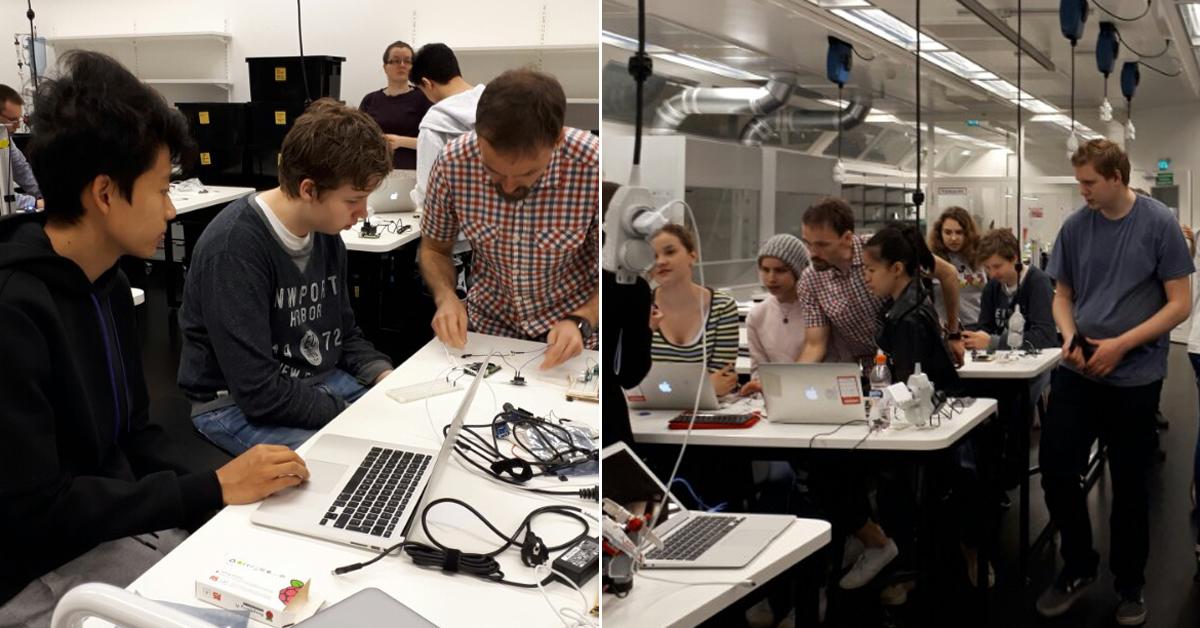 '원격조작 셀카' 프로그래밍하는 핀란드의 '평범한' 고등학생들