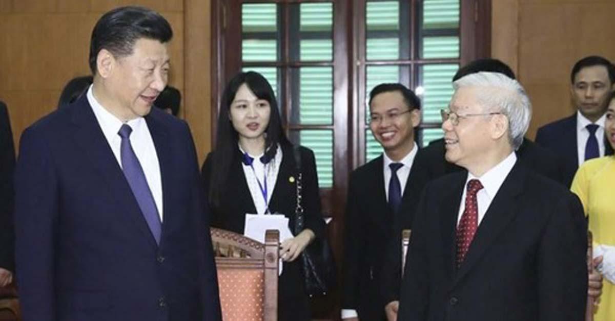 시진핑이 베트남에 공손할 수밖에 없는 이유